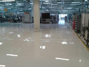 Litá epoxidová ESD podlaha